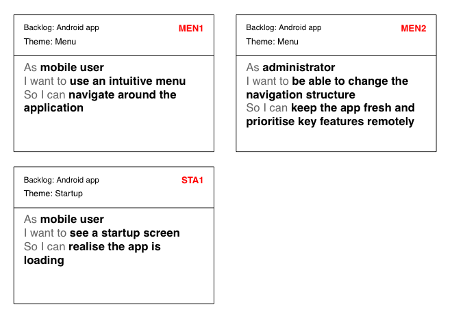 Advantages of user stories autos post for Agile acceptance criteria template